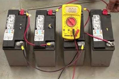 روش اتصال باتری ها به یکدیگر