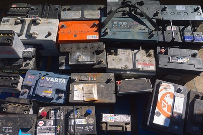 بازیافت باتری ماشین-باطری اسقاطی