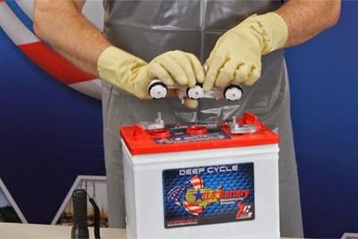توصیه های ایمنی هنگام قرارگرفتن در معرض باتری لید اسید