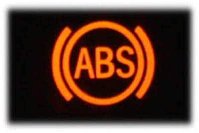 علت روشن بودن چراغ abs
