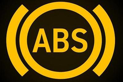 علت روشن شدن چراغ ABS