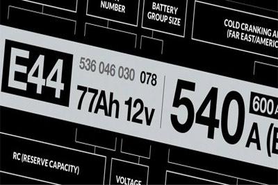 تشخیص تاریخ تولید و انقضا باتری خودرو